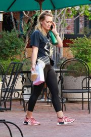 Hilary Duff - Visiting the gym in Sherman Oaks