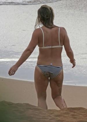 Hilary Duff in a Bikini -04