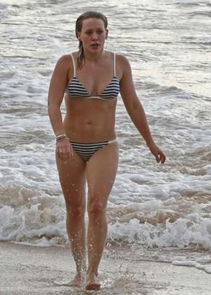 Hilary Duff in a Bikini -05