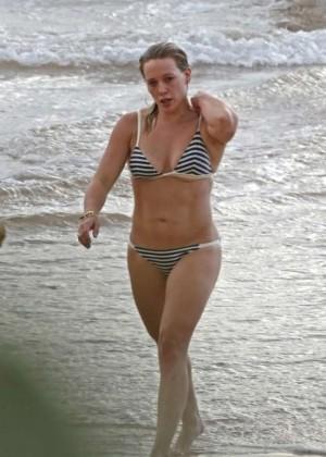 Hilary Duff in a Bikini -06