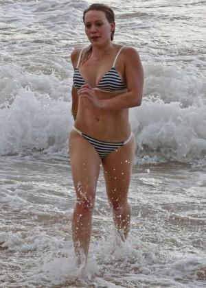 Hilary Duff in a Bikini -08