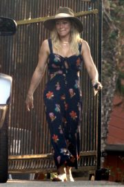 Hilary Duff with fiancee Matthew Koma in Studio City