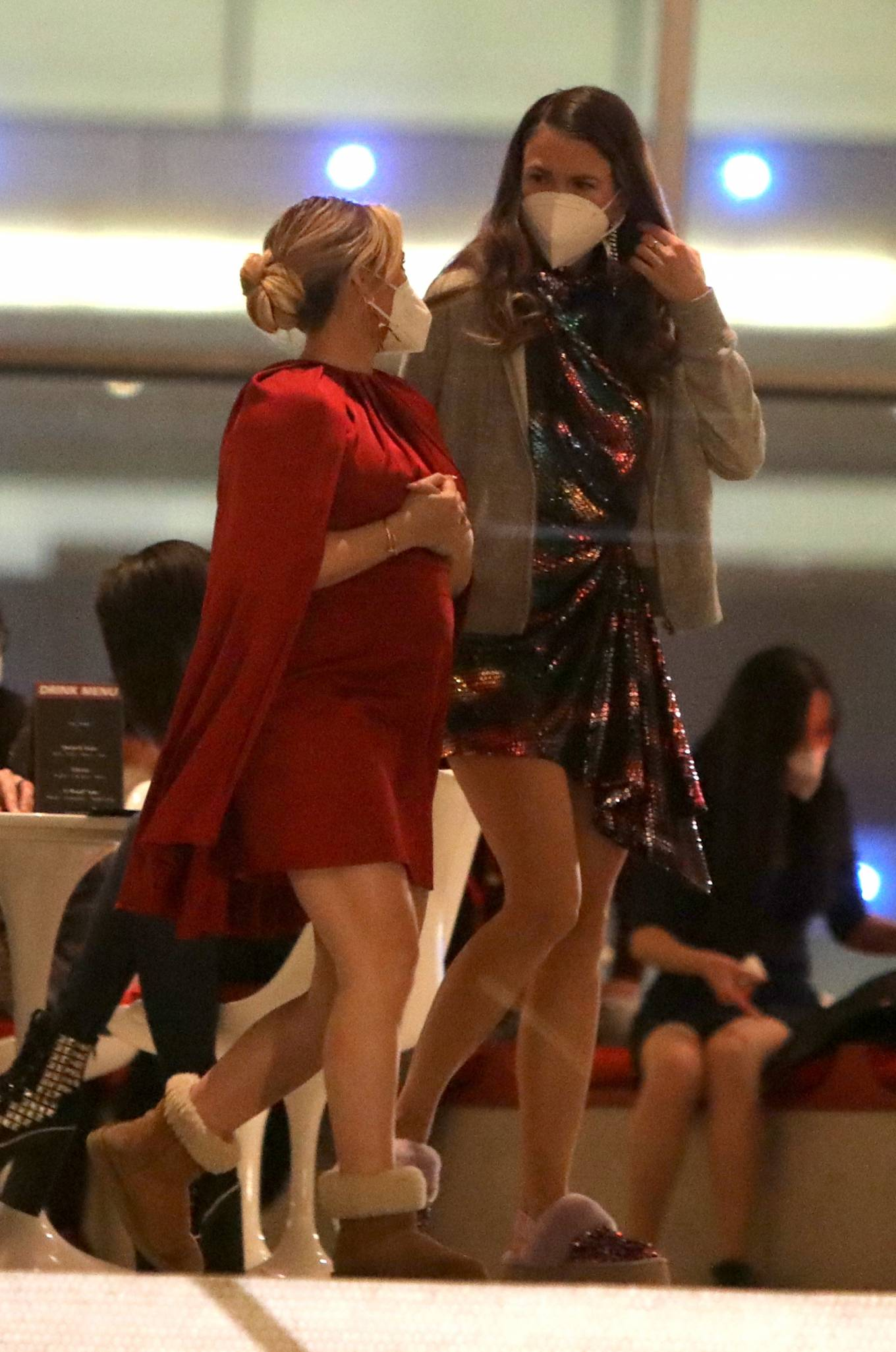 Hilary Duff 2020 : Hilary Duff with Sutton Foster and Laura Benanti – The Younger set at the TWA Hotel in Queens-05