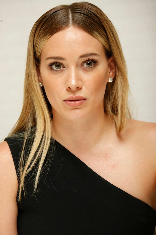 Hilary Duff - 'Younger' Press Conference Portraits in LA