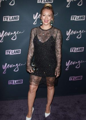 Hilary Duff - Younger -  Season Five premiere in NYC