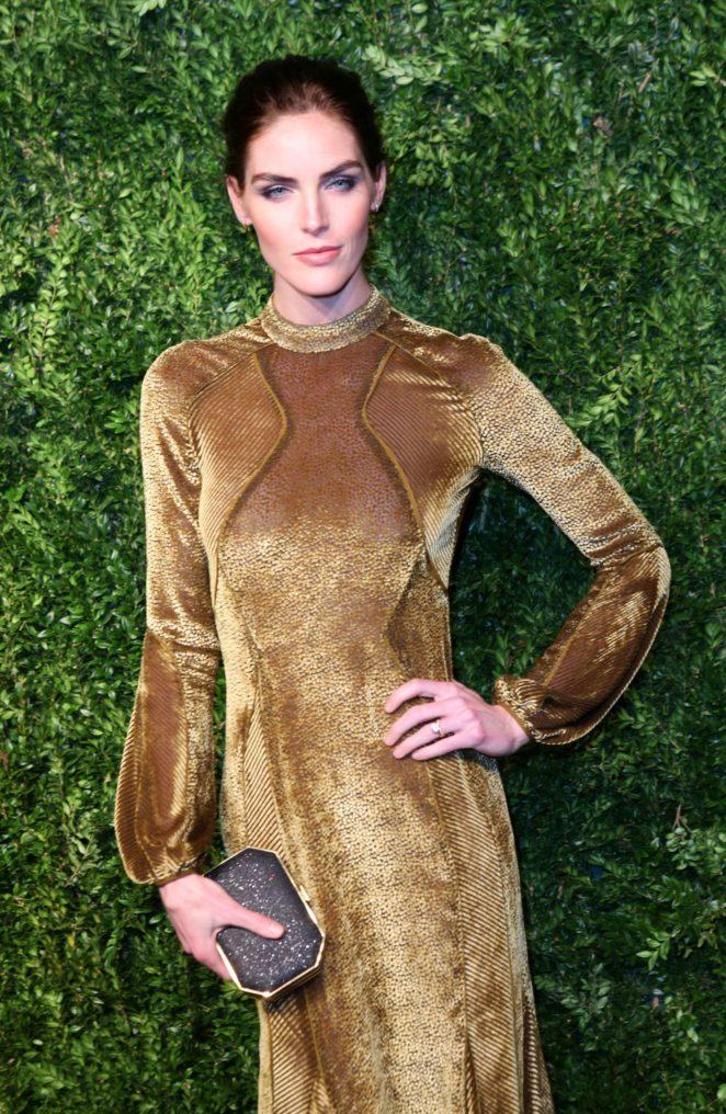 Hilary Rhoda - 2017 CFDA Vogue Fashion Fund Awards in NYC