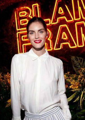 Hilary Rhoda - Frame's Blame Jordan Dinner - 2018 NYFW in New York