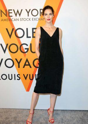 Hilary Rhoda - Louis Vuitton 'Volez, Voguez, Voyagez' Exhibition Opening in NY