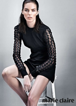 Hilary Rhoda - Marie Claire Korea Magazine (August 2015)