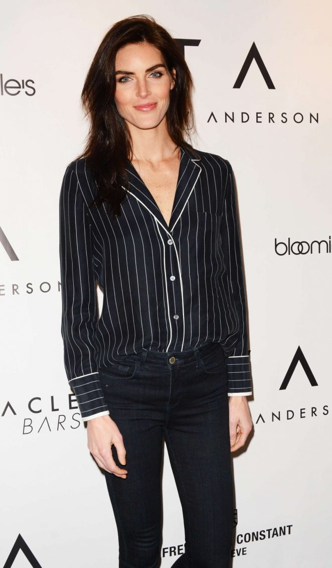 Hilary Rhoda - Tracy Anderson Flagship Studio Opening in New York
