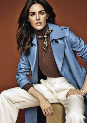 Hilary Rhoda - Vanity Fair Italy Magazine (December 2018)