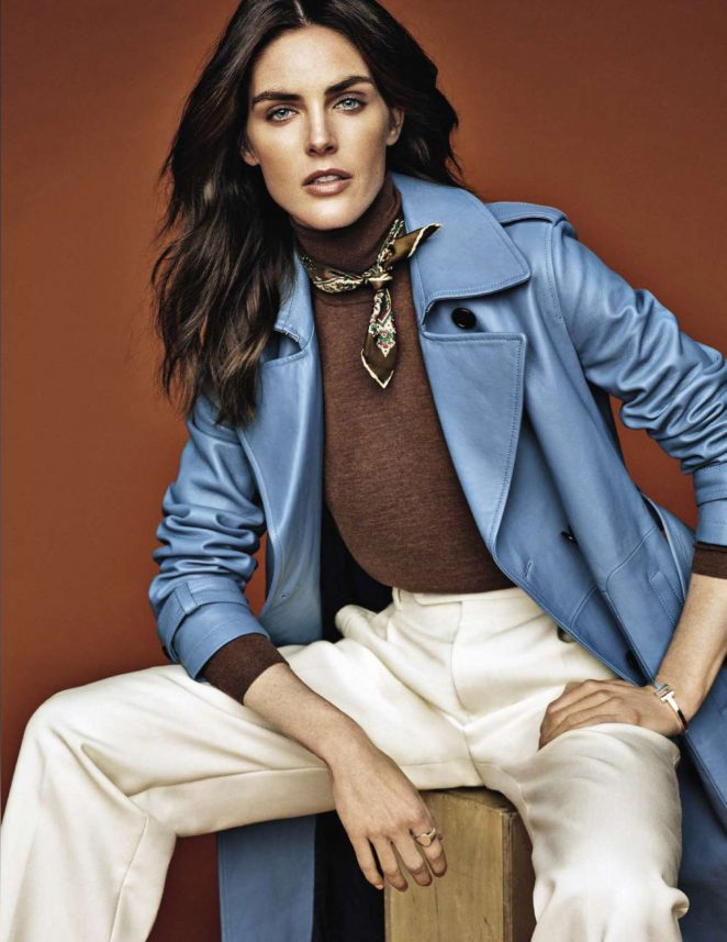 Hilary Rhoda – Vanity Fair Italy Magazine (December 2018)