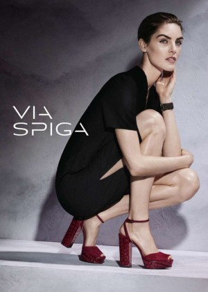 Hilary Rhoda - Via Spiga Collection (F/W 2015)
