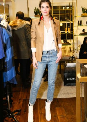 Hilary Rhoda - Vogue x Rag Bone Celebrate the Holidays in New York