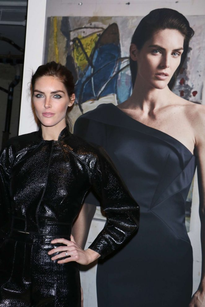 Hilary Rhoda: Zac Posen Show at 2017 NYFW -22