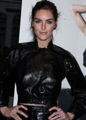 Hilary Rhoda - Zac Posen Show at 2017 NYFW in New York