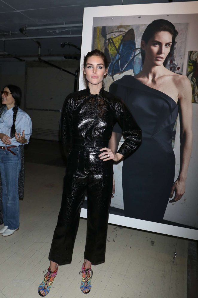 Hilary Rhoda: Zac Posen Show at 2017 NYFW -29