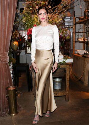 Hilary Rhoda - Zimmermann Celebrates Spring 2019 Pre-Show Dinner in NY