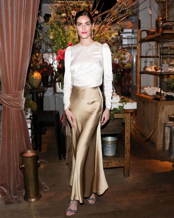 Hilary Rhoda – Zimmermann Celebrates Spring 2019 Pre-Show Dinner in NY