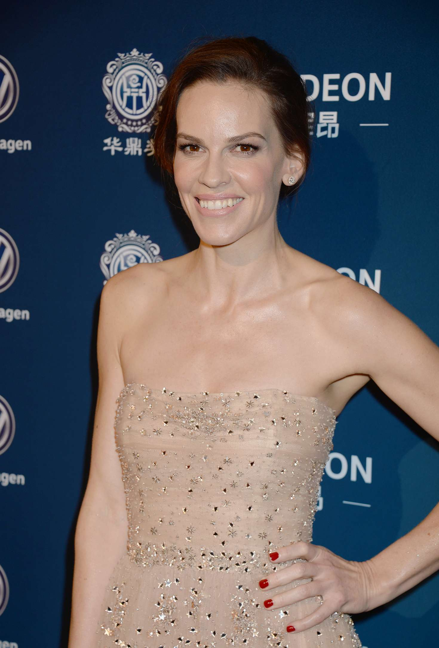Hilary Swank – 2016 Huading Global Film Awards in Los ... Hilary Swank