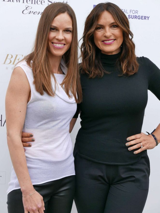 Hilary Swank and Mariska Hargitay - Hamptons Magazine Memorial Day Celebration in Southampton