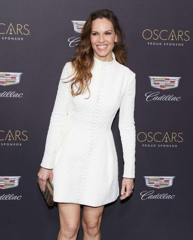 Hilary Swank – Cadillac celebrates The 91st Annual Academy Awards in LA