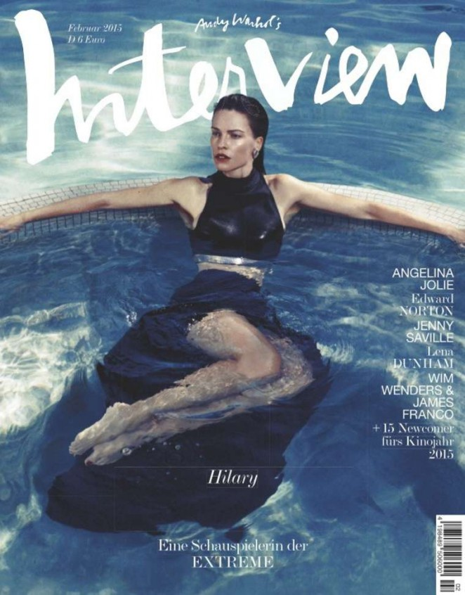 Hilary Swank - Interview Germany Cover Magazine (February 2015)