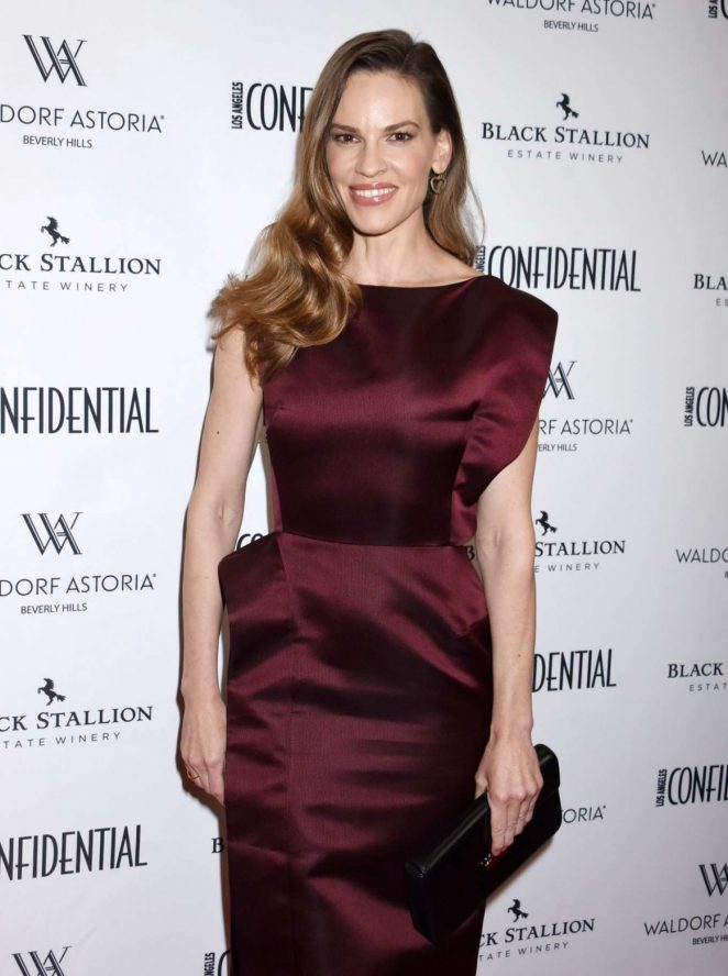 Hilary Swank - LA Confidential Women Of Influence Issue Party in Beverly Hills