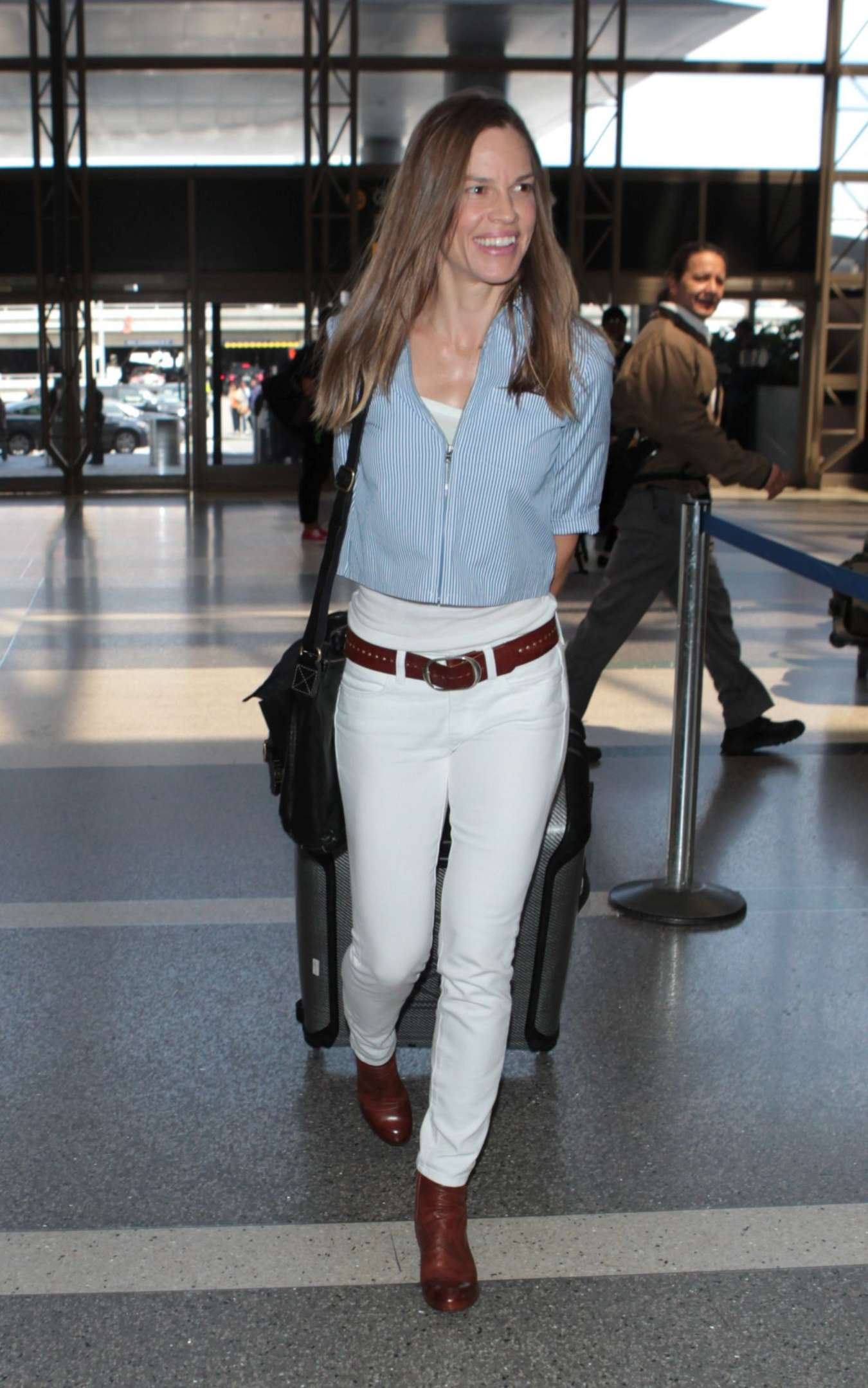 Hilary Swank in Tight ...