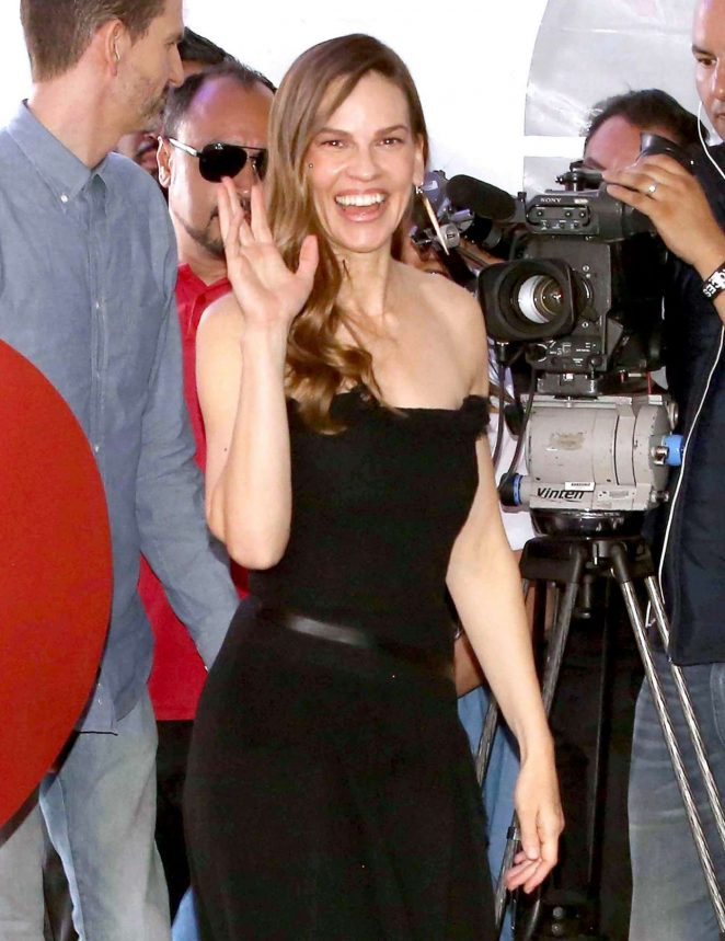Hilary Swank - 'Liberatum' International Festival of Culture and Leadership in Mexico