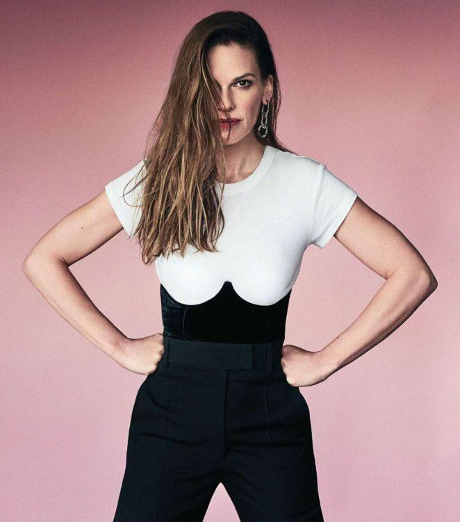 Hilary Swank - Los Angeles Confidential Magazine 2018
