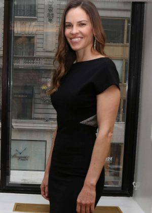 Hilary Swank - Press Conference for Trust in New York