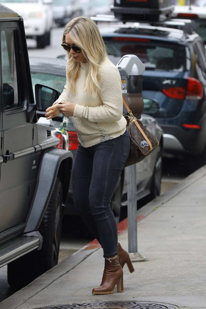 Hillary Duff out in Los Angeles