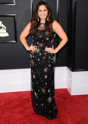 Hillary Scott - 59th GRAMMY Awards in Los Angeles