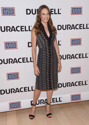 Hillary Swank - 'Comfort Crew For Military Kids' Event in NYC