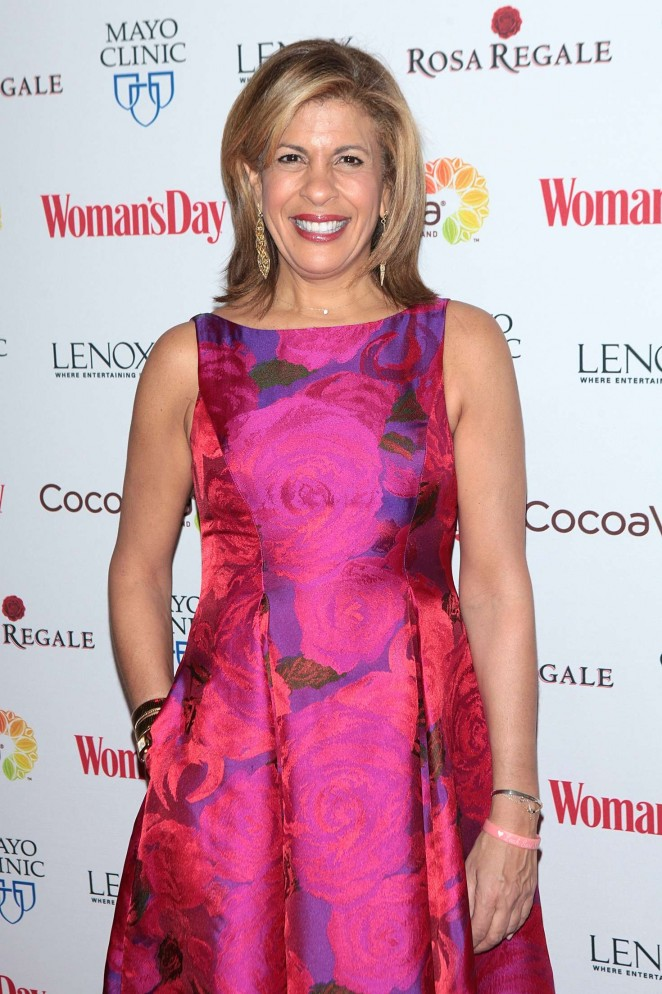 Hoda Kotb - Woman's Day 13th Annual Red Dress Awards in New York