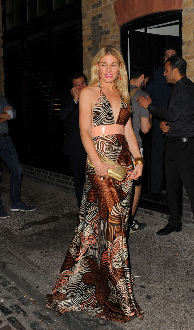 Hofit Golan - Arrives at the Chiltern Firehouse in London