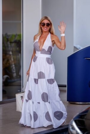 Hofit Golan - Is spotted at the Martinez Hotel during the 74th Cannes Film Festival in Cannes