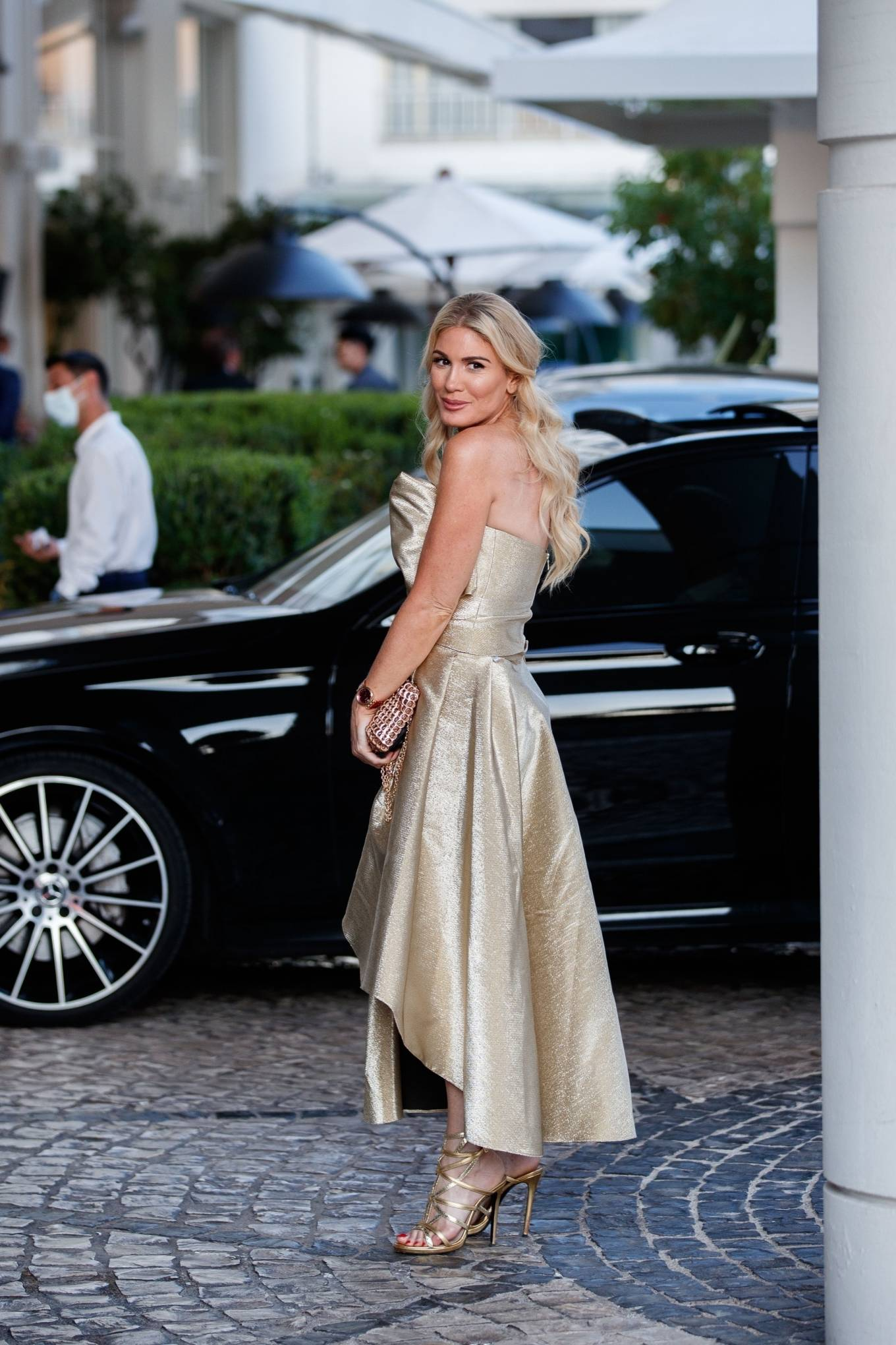 Hofit Golan - Seen at the Martinez Hotel during the 74th Cannes Film Festival