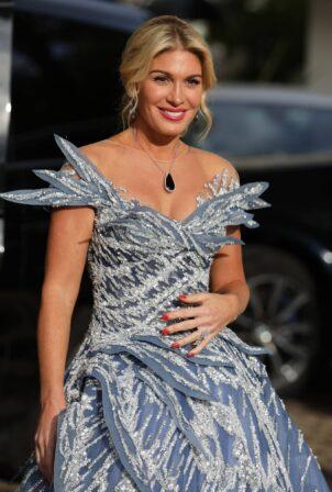Hofit Golan - Seen leaving Hotel Martinez during Cannes Film Festival 2021