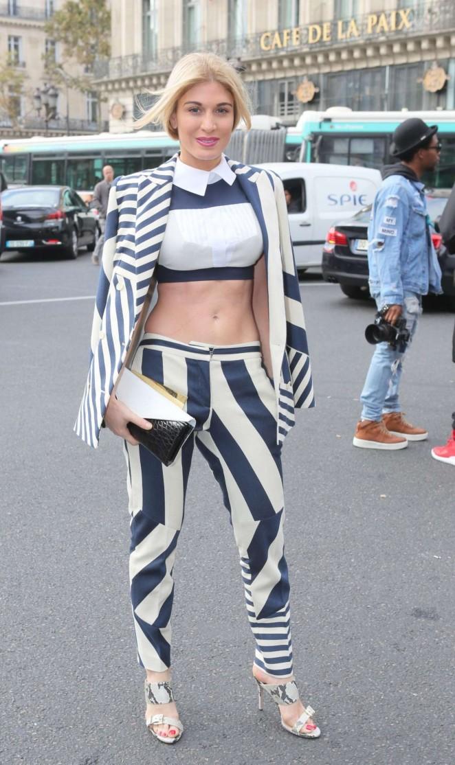 Hofit Golan - Stella McCartney Show at Paris Fashion Week S/S 2016