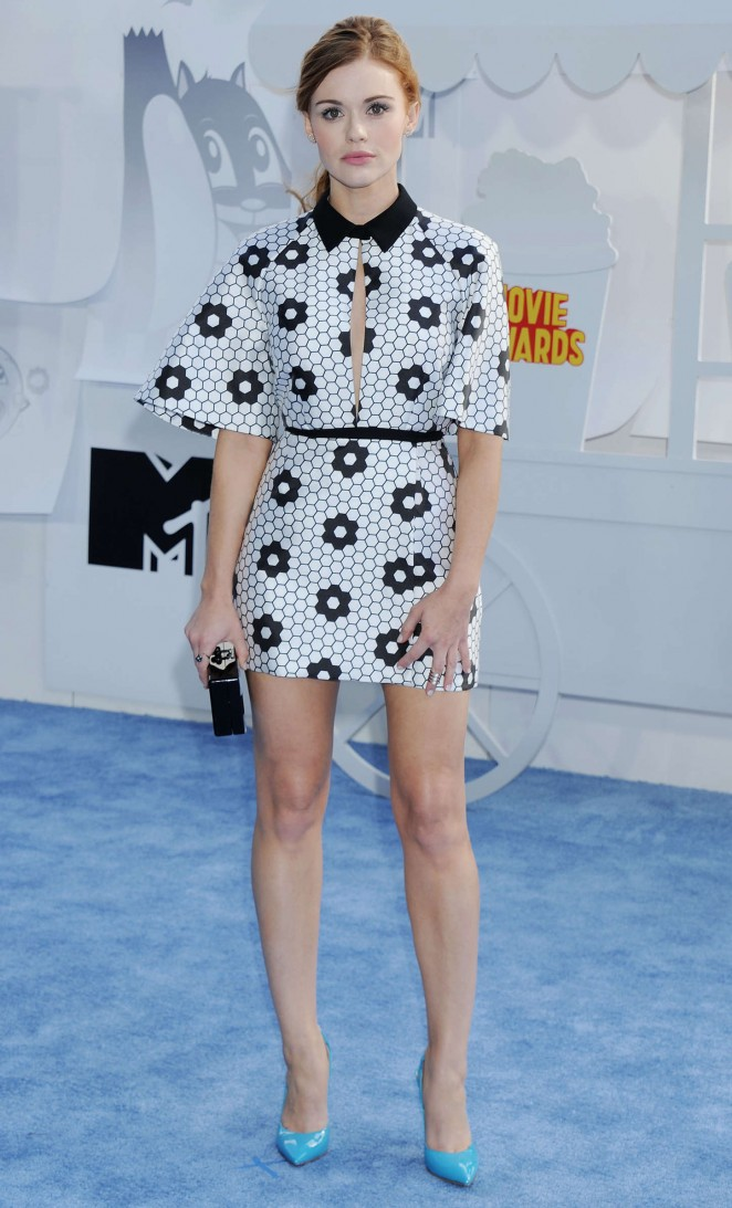 Holland Roden: 2015 MTV Movie Awards -03