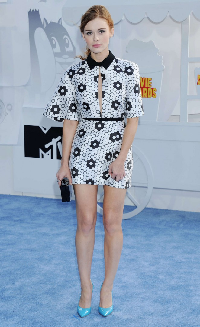 Holland Roden: 2015 MTV Movie Awards -15