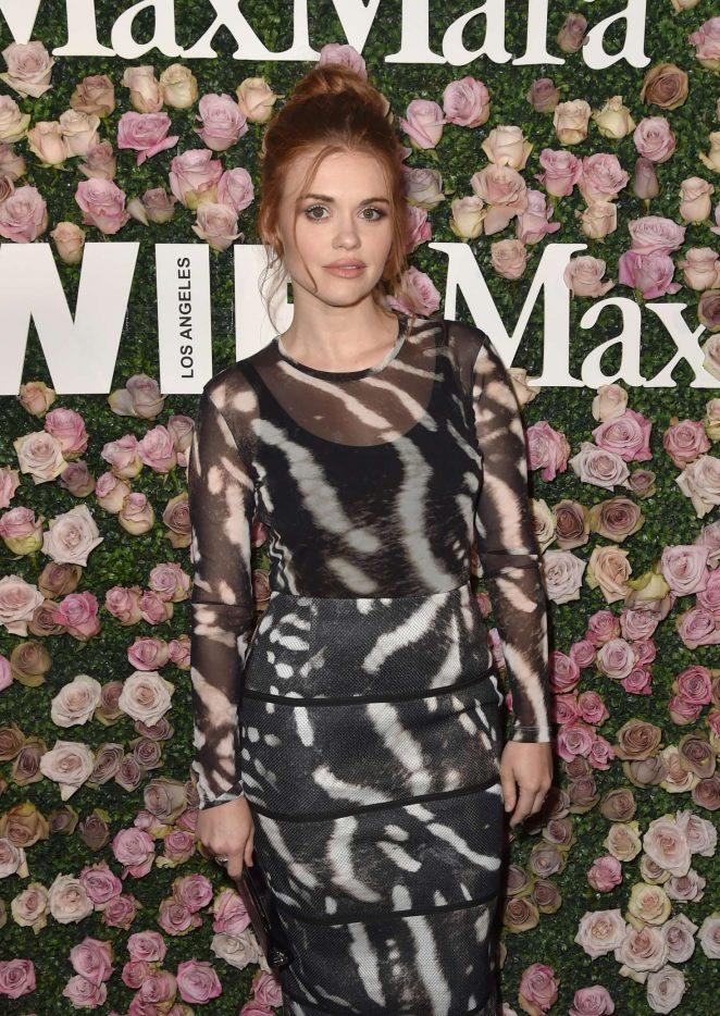 Holland Roden - 2017 Women In Film Max Mara Face of the Future Awards in LA