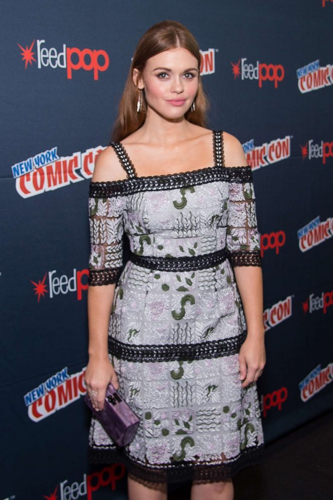 Holland Roden at New York Comic-Con in NYC