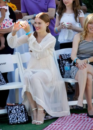 Holland Roden - Grace Rose Bauer Children's Fashion Show in LA