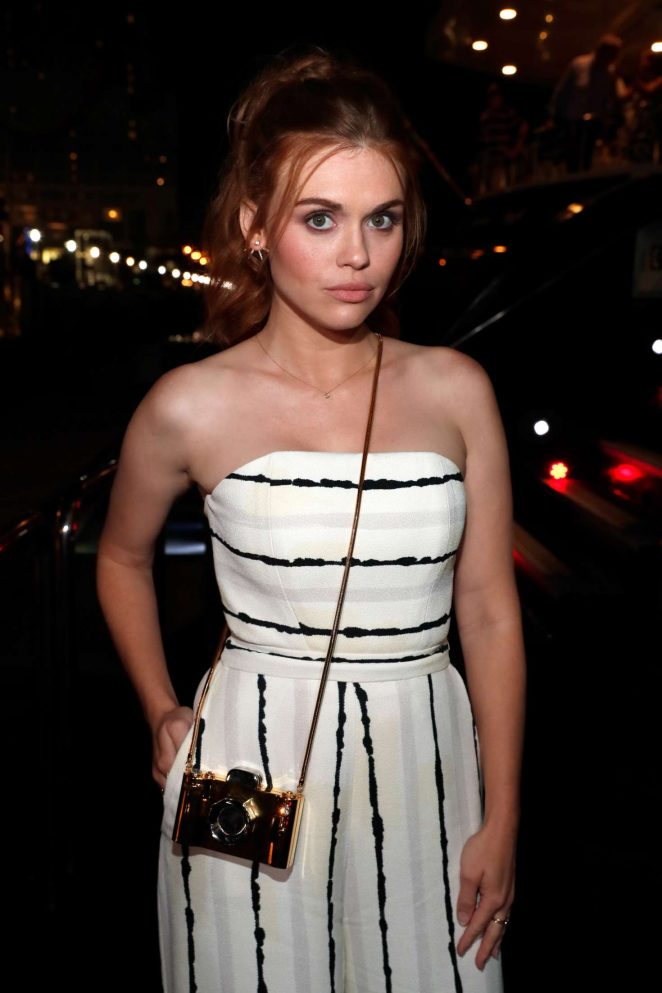 Holland Roden - IMDb Yacht Party in San Diego
