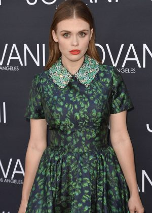 Holland Roden - Jovani Los Angeles Store Opening Celebration in West Hollywood