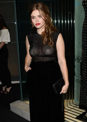 Holland Roden - Leaves Giorgio Armani Pre Oscar Party in Los Angeles
