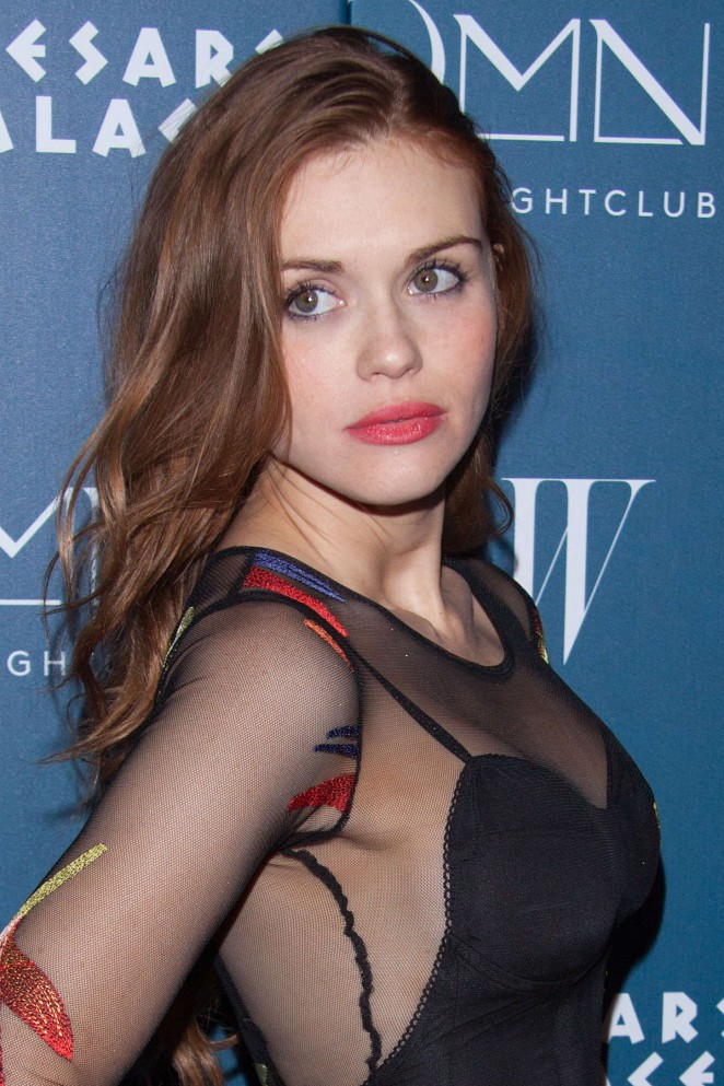 Holland Roden - Omnia Nightclub At Caesars Palace Grand Opening Weekend With Sean Combs and Sarah Hyland in Las Vegas